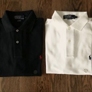 Set of 2 New Polo Ralph Lauren Polos Size S
